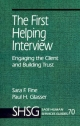 First Helping Interview - Sara F. Fine; Paul H. Glasser