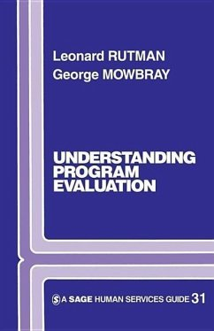 Understanding Programme Evaluation - Rutman, Leonard Mowbray, George