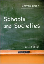 Schools and Societies - Steven Brint, Manufactured by Stanford University Press