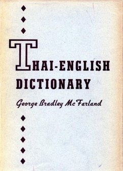 Thai-English Dictionary - McFarland, George Bradley
