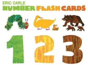Number flash cards - Carle, Eric