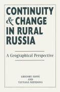 Continuity and Change in Rural Russia: A Geographical Perspective