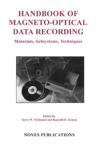 Handbook of Magneto-Optical Data Recording
