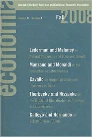 Economia: Fall 2008: Journal of the Latin American and Caribbean Economic Association - Eduardo Engel (Editor), Francisco Ferreira (Editor), Roberto Rigob?n (Editor)