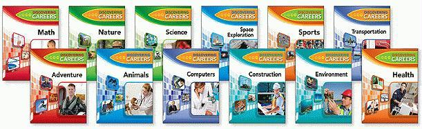 Discovering Careers Set, 12-Volumes