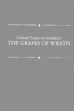 Critical Essays on Steinbeck's Grapes of Wrath: John Steinbeck's Grapes of Wrath - Ditsky, John Davis, William V.
