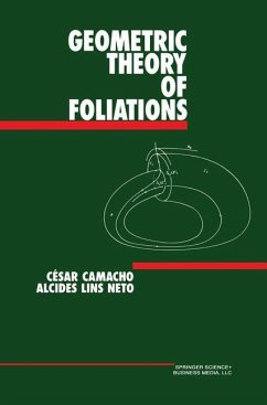 Geometric Theory of Foliations - Camacho, César Lins Neto, Alcides