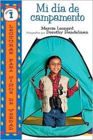Mi día de campamento (My Camp-Out) - Marcia Leonard, Dorothy Handelman (Photographer)