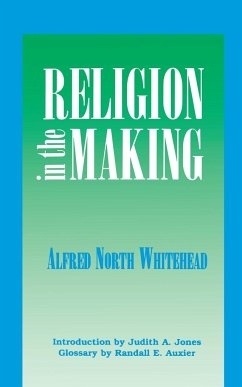 Religion in the Making - Whitehead, Alfred N.