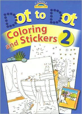 Dot to Dot Coloring and Stickers #2 - Juliet David
