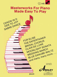 Masterworks for Piano Made Easy to Play (World's Favorite Series #146) - Hal Leonard Corp.