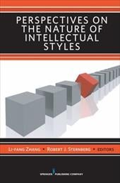 Perspectives on the Nature of Intellectual Styles - Zhang, Li-Fang / Sternberg, Robert J.