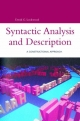 Syntactic Analysis and Description - David G. Lockwood