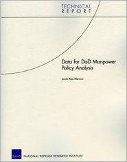 Data for DoD Manpower Policy Analysis - Jacob Alex Klerman