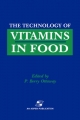 Technology of Vitamins in Food - Peter Berry Ottaway
