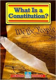 What Is a Constitution? - William David Thomas