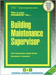 Building Maintenance Supervisor - Manufactured by National Learning Corporation