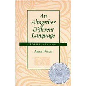 Altogether Different Languages - Porter, Anne / Porter, Fairfield