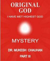 Original God - Mystery - Part III