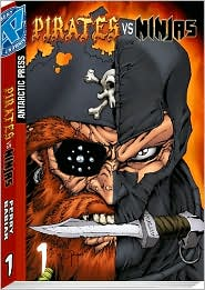 Pirates Vs. Ninjas Pocket Manga, Volume 1