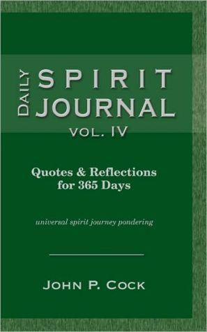 Daily Spirit Journal, Vol. Iv