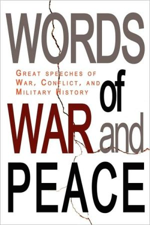 Words Of War And Peace - Lee Prescott (Editor)