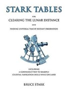 STARK,BRUCE: Stark Tables: For Clearing the Lunar Distance and Finding Universal Time by Sextant Observation Including a Convenient Way to Sharpe