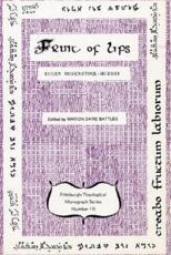 The Fruit of Lips - Eugen Rosenstock-Huessy