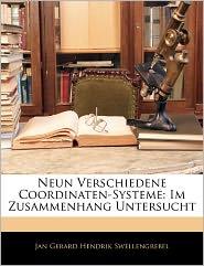 Neun Verschiedene Coordinaten-Systeme - Jan Gerard Hendrik Swellengrebel