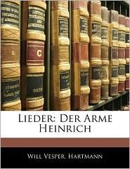 Lieder - Will Vesper, Will Hartmann