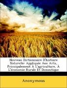 Anonymous: Nouveau Dictionnaire D´histoire Naturelle: Appliquée Aux Arts, Principalement À L´agriculture, À L´économie Rurale Et Domestique