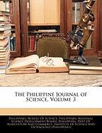 The Philippine Journal of Science, Volume 3