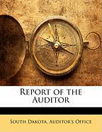 Report of the Auditor