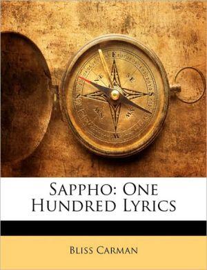 Sappho - Bliss Carman
