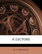 A Lecture