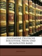 Anonymous: Allgemeine Deutsche Bibliothek, Neun und sechzigster band