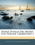 Storia D'Italia del Medio-Evo, Volume 1, Part 3