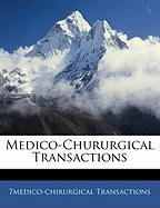 Medico-Chururgical Transactions
