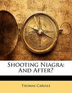 Shooting Niagra: And After?