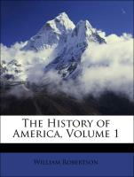 The History of America, Volume 1