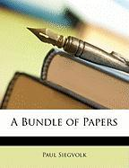 A Bundle of Papers