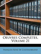 Oeuvres Compltes, Volume 21