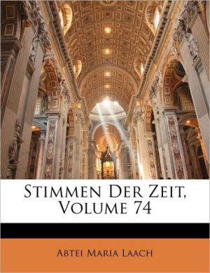 Stimmen Der Zeit, Volume 74