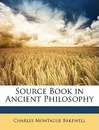 Source Book in Ancient Philosophy - Charles Montague Bakewell