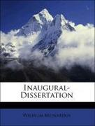 Meinardus, Wilhelm: Inaugural-Dissertation