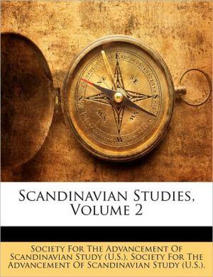 Scandinavian Studies, Volume 2 - Created by Society for the Advancement of Scandinav