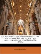 Baumgarten, Michael: Die Aechtheit der Pastoralbriefe, mit besonderer Rücksicht auf den neuesten angriff von Herrn Dr. Baur