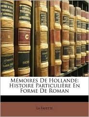 Mmoires de Hollande