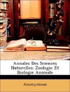 Anonymous: Annales Des Sciences Naturelles: Zoologie Et Biologie Animale