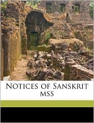 Notices of Sanskrit Mss Volume 2 - Rajendralala Mitra